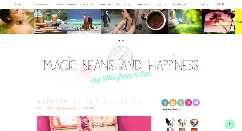 magic beans and happiness